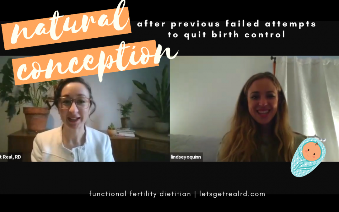 Post Birth Control Syndrome Success Story