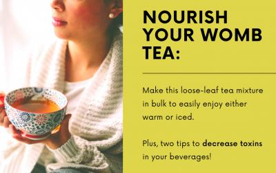 Nourish Your Womb Tea